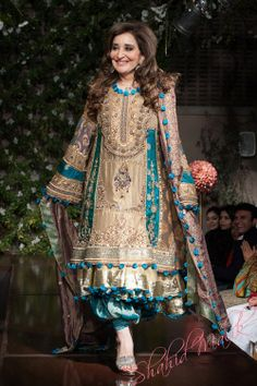 Pakistani Designer Saadia Mirza's -The Nur ul Aine Bridal Wear Collection 2013 Pakistani Fashion Party Wear, Pakistani Wedding Outfits, Indian Bridal Fashion, Pakistani Dress Design, Pakistani Designers, Bridal Outfits, Pakistani Dresses, Indian Dresses, Indian Outfits