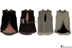 Php850 Blaze Sleeveless (Pink and Cream)