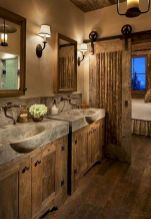 15 Dreamy Sliding Barn Door Designs is part of Rustic bathroom designs 15 Dreamy Sliding Barn Door Designs that are sure to inspire! Barn Door Designs, Rustic House, House Design, Bathroom Decor, Bathrooms Remodel, New Homes, Rustic Bathrooms, Home Decor, House Interior