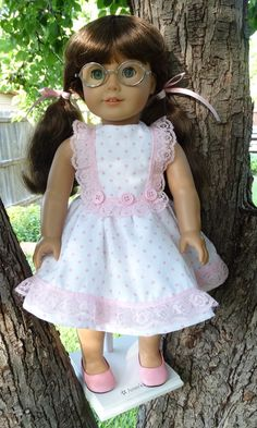 18 Doll Clothes 1950's Style Summer Dress Fits by Designed4Dolls