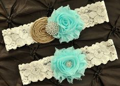 Hey, I found this really awesome Etsy listing at https://www.etsy.com/listing/166138849/burlap-rustic-wedding-garter-set-bridal