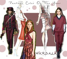 Pantone Color of the Year 2015 // <br/> All eyes on: Marsala