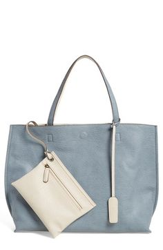 Street Level Reversible Faux Leather Tote Wristlet Available At Nordstrom