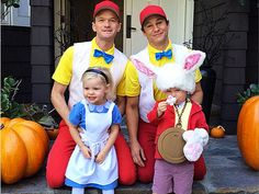 Neil Patrick Harris & Family: 'Alice in Wonderland' for Halloween! Neil Patrick Harris and David Burtka take their adorable kids to a Halloween party on Saturday afternoon (October in Studio City, Calif. The actors dressed…
