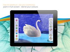 """Paint from """"The Swan Lake"""" Interactive Stories, Swan Lake, Itunes, Colours, App, Activities, Painting, Painting Art, Apps"""
