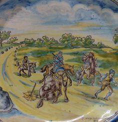 niveiro .- antiguo plato cerámica de talavera c - Comprar Cerámica y Porcelana de Talavera en todocoleccion - 40707367