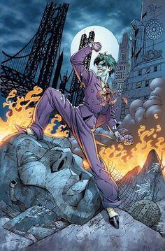 The Joker by J.Scott Campbell                                                                                                                                                                                 Mais