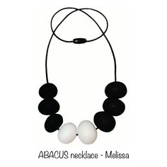 Nibbly Bits Abacus Necklaces not only look fantastic but are also a non-toxic alternative to regular jewellery.   http://www.smallsmallworld.co.nz/abacus-necklace-p-413.html