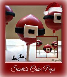 'Santa's Cake Pops'