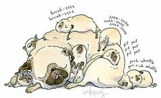 Pug Pile