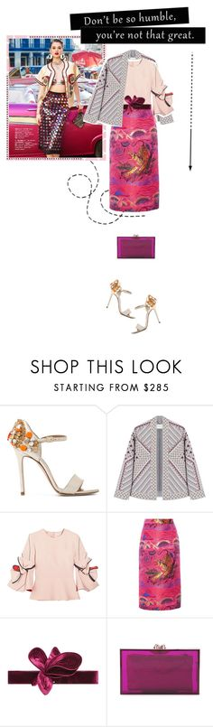 """You're not that great"" by jpcarroll ❤ liked on Polyvore featuring Marc Ellis, BCBGMAXAZRIA, Roksanda, Gucci, Johanna Ortiz, Charlotte Olympia, Summer, Model, colorful and AnaisPouliot"