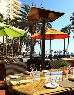 Shades Restaurant at the Waterfront Beach Resort in Huntington Beach.