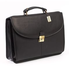 ClaireChase Lawyers Briefcase - Black | from hayneedle.com