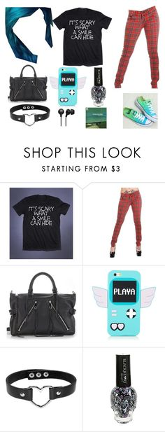 """""""Emo Girl Fashion <3"""" by hollizorra2567 on Polyvore featuring Rebecca Minkoff"""
