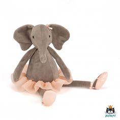 Knuffel olifant Dancing Darcey 33cm - Nieuw bij HippeKidsKamer.nl!