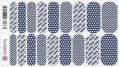 Northern Arizona University nail wraps by Jamberry Nails Order from Nicole Sklare; Jamberry Nails Independent Consultant  www.jamwrapped.jamberrynail.net