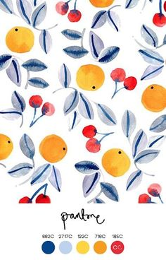 Ideas Fruit Pattern Design Orange For 2019 Wallpaper Background Design, Pattern Wallpaper, Wallpaper Backgrounds, Wallpapers, Background Designs, Pattern Background, Orange Pattern, Fruit Pattern, Plants Pattern