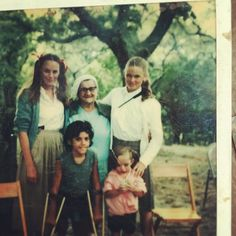 I got it from my mommaigot it from my momma. Pigtails and all Moira Downes at the Fresh Air Home. 70's?