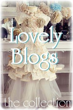Counting Your Blessings - a list of creative and beautifully inspiring blogs with links