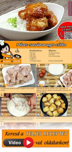 Breakfast Time, Breakfast Recipes, Sports Food, Hungarian Recipes, Cooking Recipes, Healthy Recipes, No Cook Meals, Street Food, Love Food