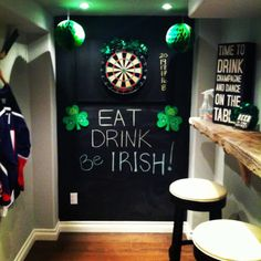 St Pattys Day + Party Decor