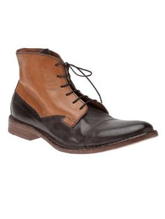 Men's fashion - The Men's Bootery | Moma Two-toned boot