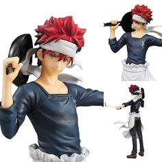 PVC Yukihira Soma from Food Wars (Shokugeki no Soma) Game Prize Figure  Now available in stock from: www.figurecentral.com.au  #animefigure #foodwars #yukihirasoma #shokugekinosoma #figurecentral