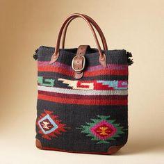 The Legends woven wool bag from Sundance Catalog