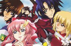 Gundam Seed Destiny : Lacus Clyne & Kira Yamato | Athrun Zala and Cagalli Yula Athha | Shinn Asuka