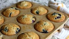 The Best Easter Brunch Recipes - ABC News: Rachel Willen's Blueberries and Sour Cream Muffins