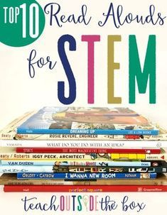 Learn How to Teach your Children to Read - Top 10 Read Alouds/Picture Books for Elementary STEM Elementary Library, Elementary Science, Elementary Teacher, Science Classroom, Stem Teacher, Upper Elementary, Primary Science, Library Science, Preschool Bulletin