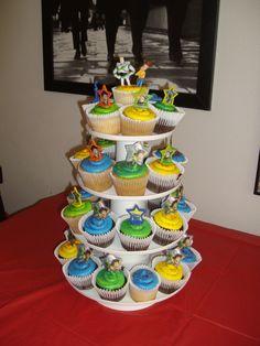 Toy story theme cupcake tree