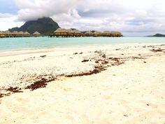 Bora Bora Island © Gengish Skan Bora Bora, Society Islands, Travel Destinations, Adventure, World, Beach, Water, Outdoor, Road Trip Destinations
