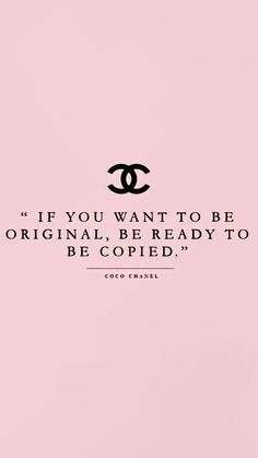 Be ready to be copied