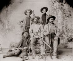 An old family photo taken in the late 1800s in Boulder, Colorado