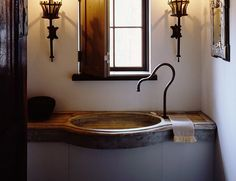 #Bathroom #Bowed #Limestone #Sinks  By Ancient Surfaces  For more information  Call us at: 212-461-0245 // 212-913-9588 Sales@AncientSurfaces.com