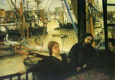 Wapping James Abbott McNeill Whistler