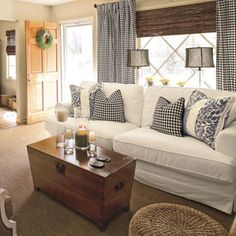 Buy the Whole Bolt | 102 Living Room Decorating Ideas | Southern Living