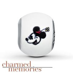 Charmed Memories Minnie Mouse Charm Sterling Silver