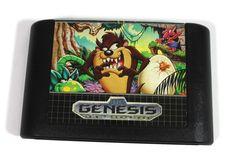Taz-Mania for Sega Genesis 1992 Retro 16 Bit Video by 1990s Kids, Sega Genesis Games, Tasmanian Devil, 16 Bit, Classic Cartoons, Looney Tunes, Video Game, Lunch Box, My Etsy Shop