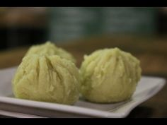 Asia eats : Cold deserts(Sweet Potato Chakin) さつまいも茶巾 - YouTube