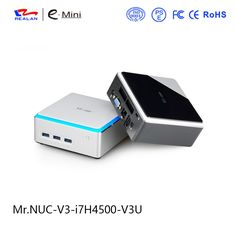 372.70$  Buy now - http://alinzk.worldwells.pw/go.php?t=32735125704 - Realan Barebone Intel NUC V3 Core i7 4500U Mini pc max 8GB RAM gaming PC Network Computer Thin Client
