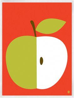 Christopher David Ryan - Apple print