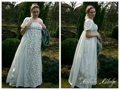 My Regency dress for a Hungarian Historical Costuming Challenge