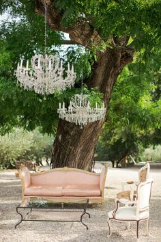 Bringing the indoors to the outdoors: http://www.stylemepretty.com/2014/11/14/summer-chateau-south-of-france-wedding/ | Photography: Marianne Taylor - http://www.mariannetaylorphotography.co.uk/