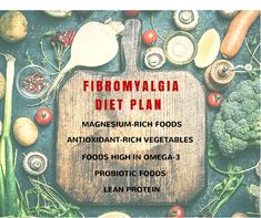 is the Fibromyalgia Diet Plan? Fibromyalgia is considered as the most common musculoskeletal disorder behind osteoarthritis. Fibromyalgia diet plan includes foods with antioxidants, magnesium, probiotics, lean protein, and fatty acids. Treating Fibromyalgia, Fibromyalgia Pain, Chronic Pain, Chronic Illness, How To Treat Fibromyalgia, Rheumatoid Arthritis, Endometriosis, Chronic Fatigue Syndrome Diet, Blood Type Diet