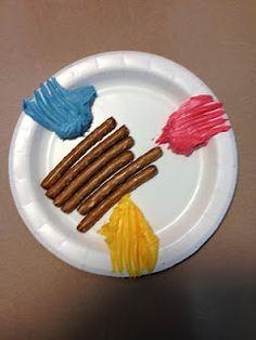 Mixing Colors...kindergarten will love this!
