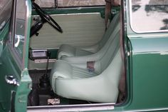 Original Factory Cooper S buckets fitted to the South African built cars Classic Mini, Buckets, Minis, Car Seats, Custom Design, African, Cars, Luxury, Stuff To Buy