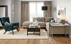Arden High Loop Wool Rug - Modern Wool Rugs - Entryway - Room & Board