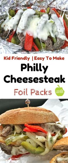 Healthy Foil Packs for kids are the perfect steak dinner recipe any night of the week and are also a great camping recipe! These steak foil packets (ad) are easy to make, bake quickly, and are a fun d Steak Foil Packets, Grilled Foil Packets, Foil Packet Dinners, Foil Pack Meals, Steak Dinner Recipes, Steak Recipes, Grilling Recipes, Easy Dinner Recipes, Steak Dinners